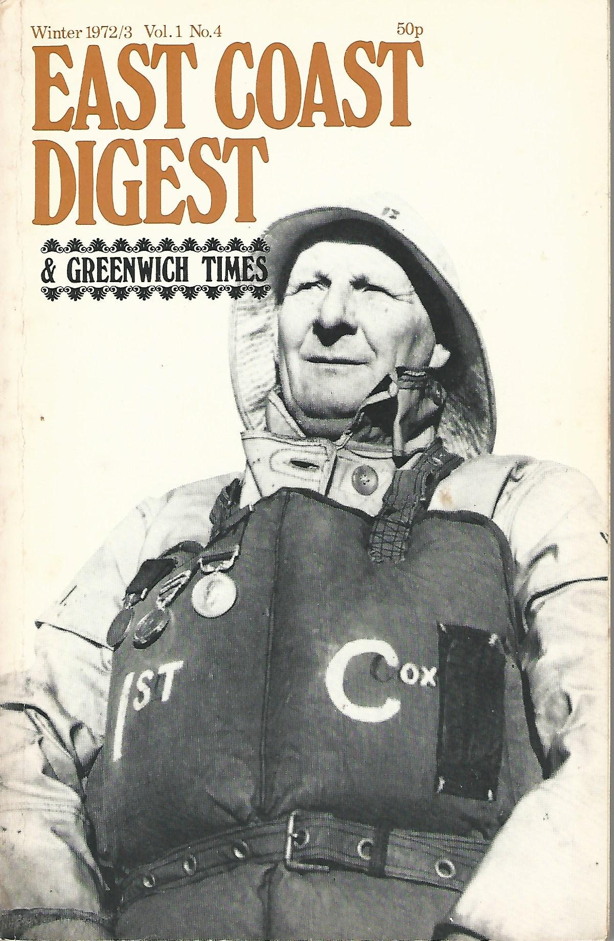 Image for East Coast Digest & Greenwich Times Vol.1 No.4.