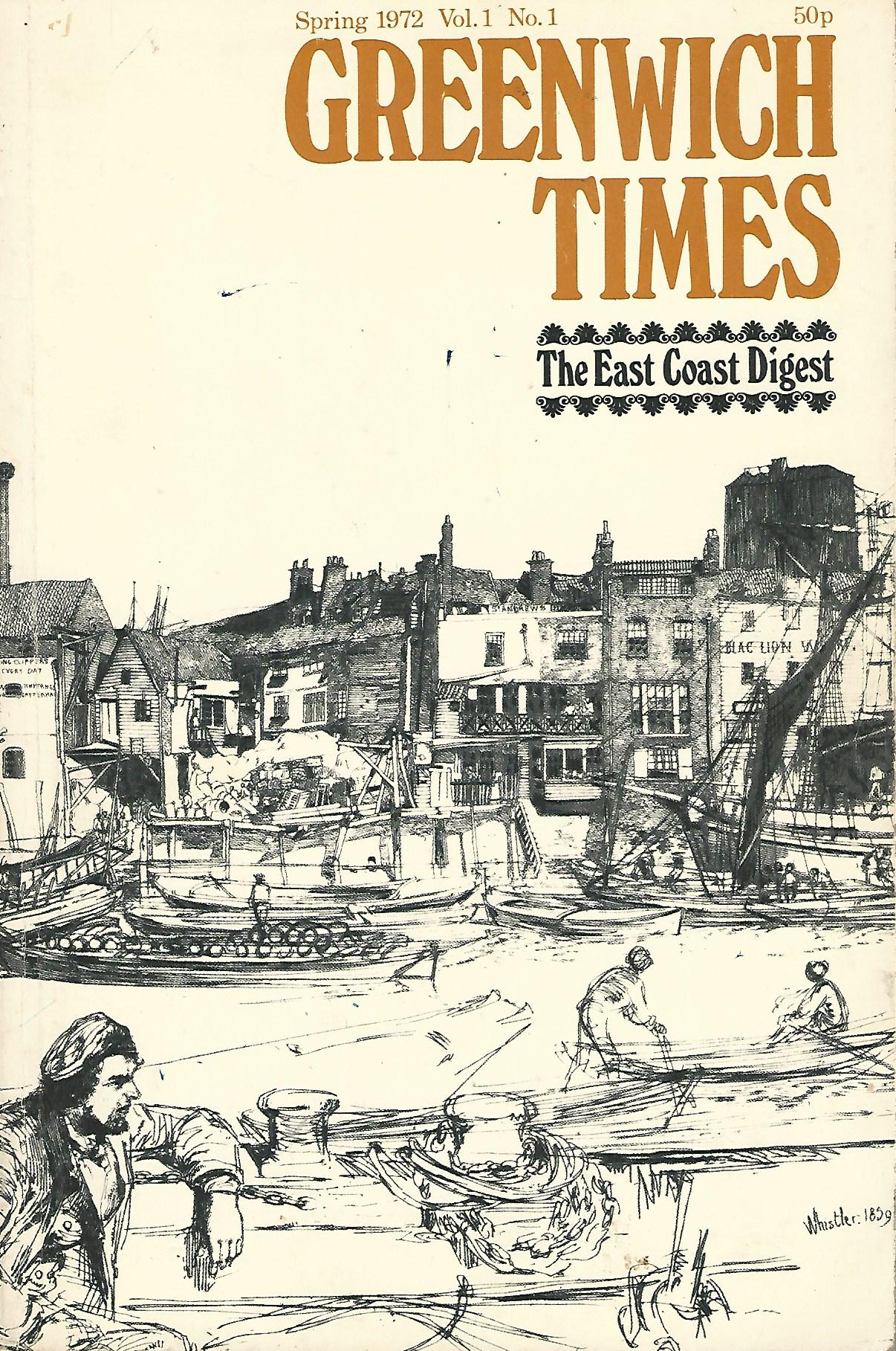 Image for East Coast Digest & Greenwich Times Vol.1 No.1.