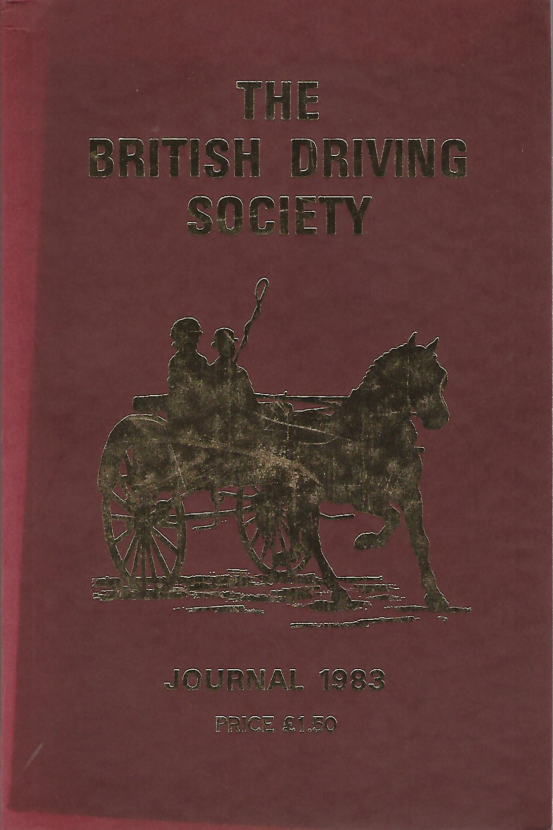 Image for The British Driving Society Journal 1983.