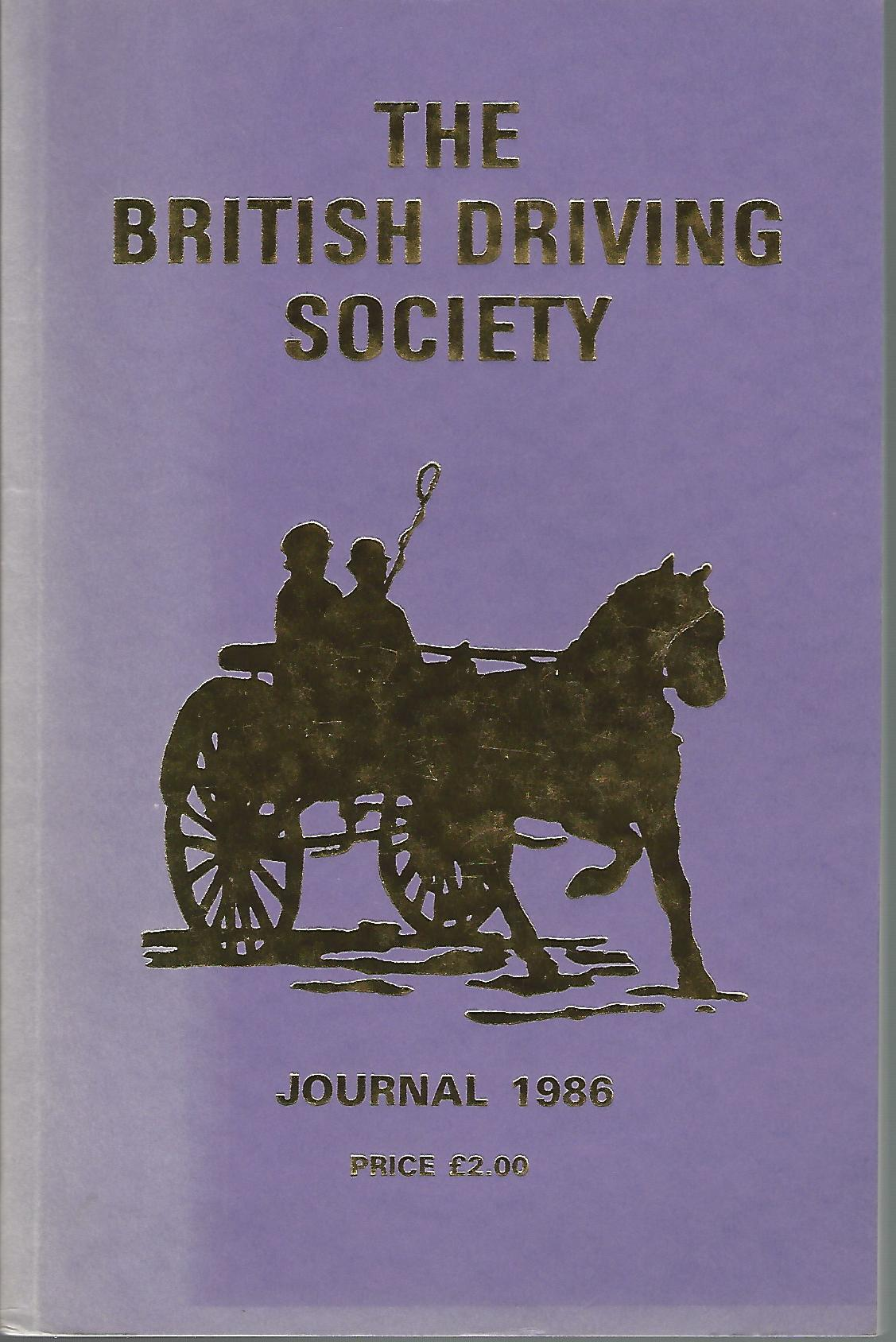 Image for The British Driving Society Journal 1986.