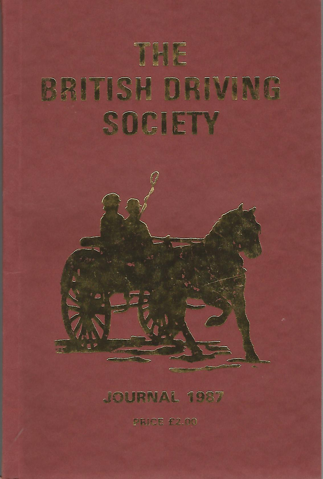 Image for The British Driving Society Journal 1987.