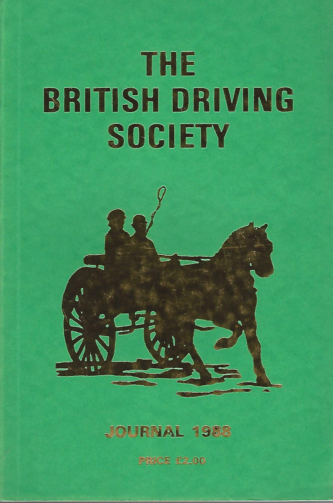 Image for The British Driving Society Journal 1988.