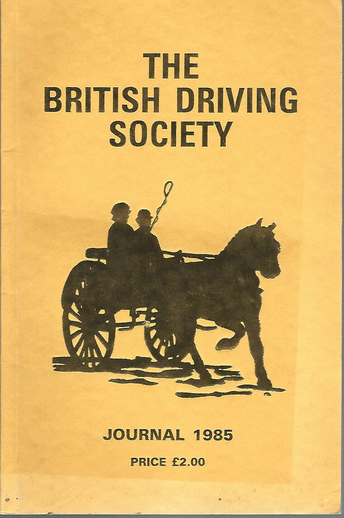 Image for The British Driving Society Journal 1985.