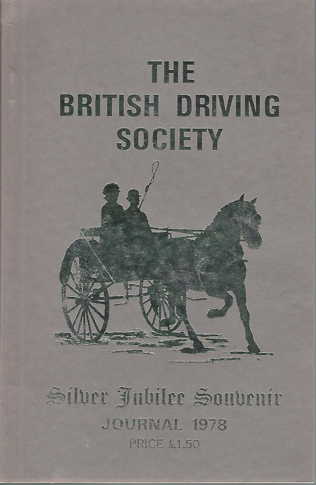 Image for The British Driving Society Journal 1978. Silver Jubilee Souvenir.