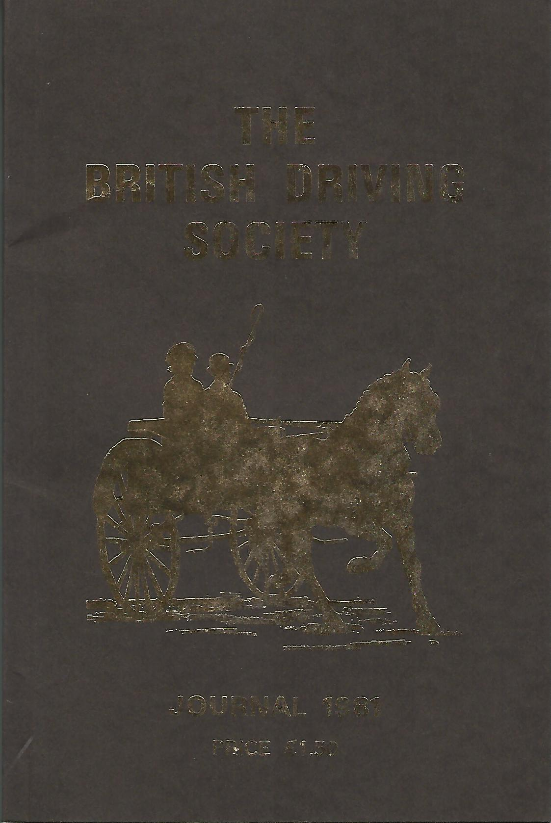 Image for The British Driving Society Journal 1981.