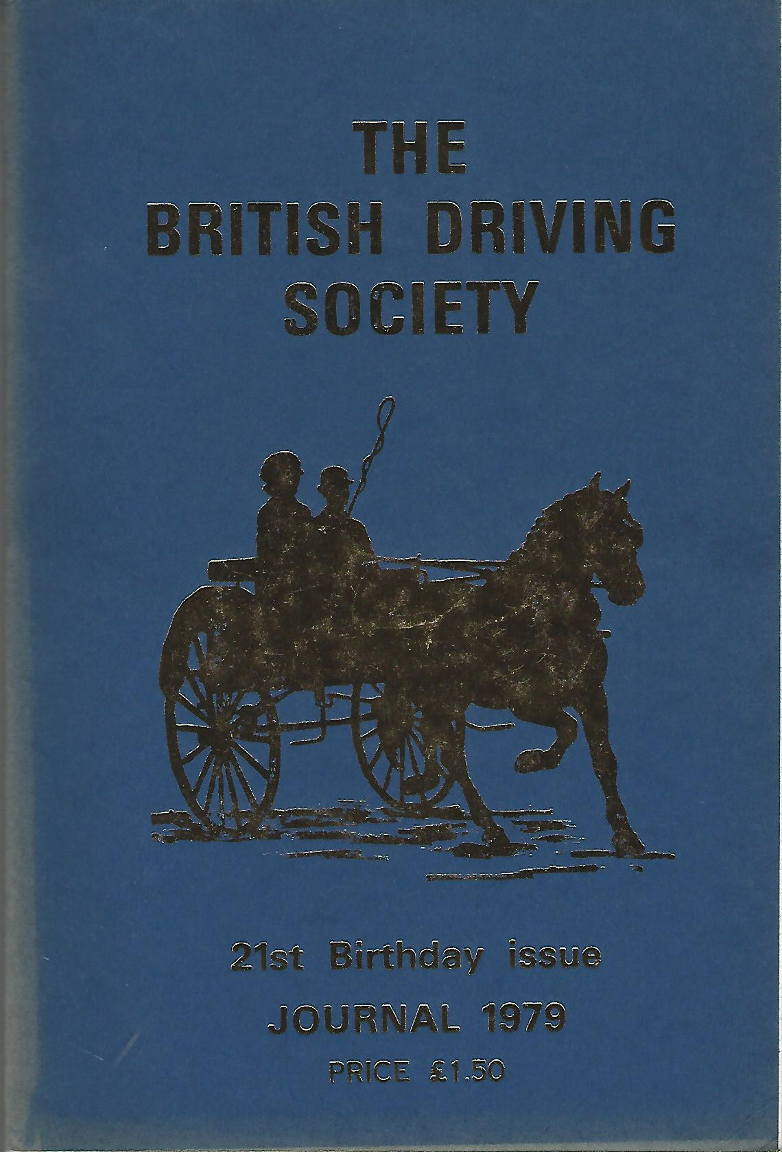 Image for The British Driving Society Journal 1979. 21st Birthday Issue.