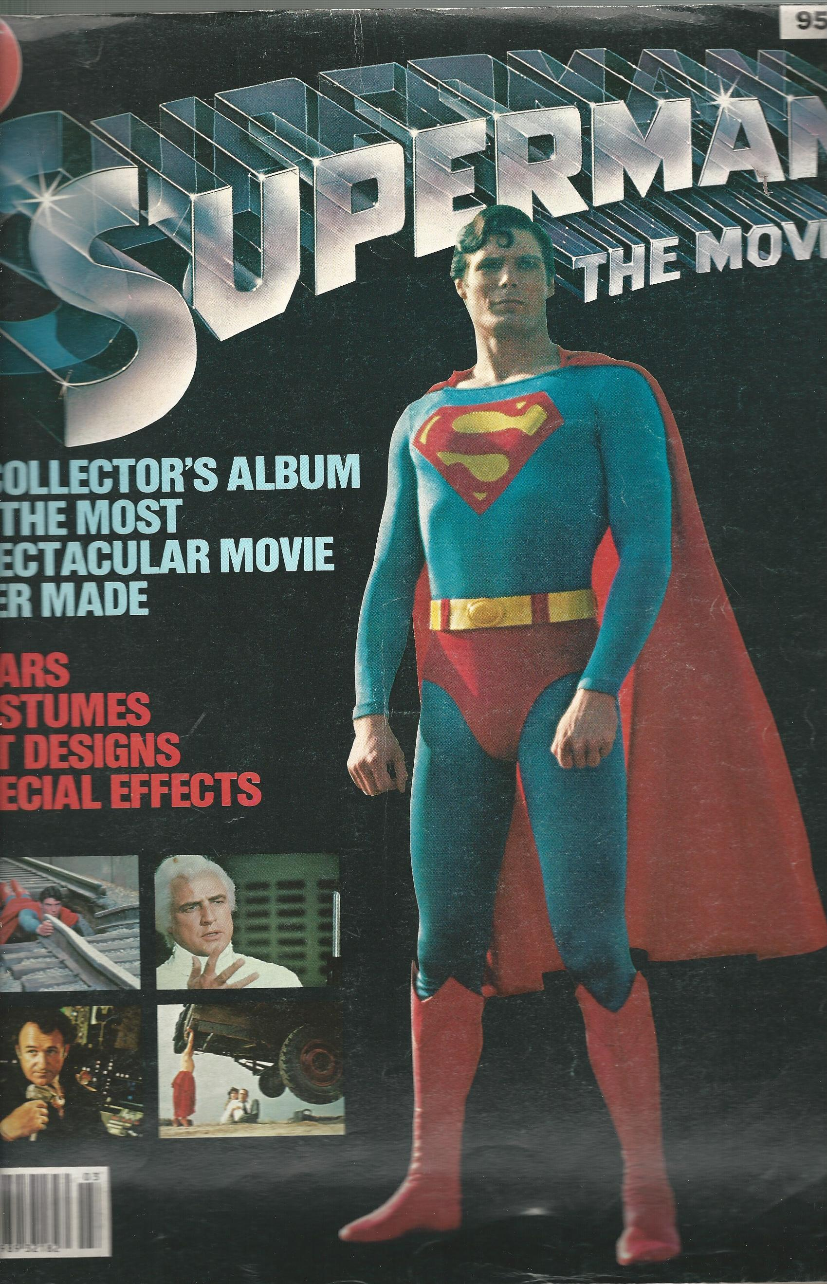 Image for Superman The Movie: A Collector's Album of the Most Spectacular Movie Ever Made.