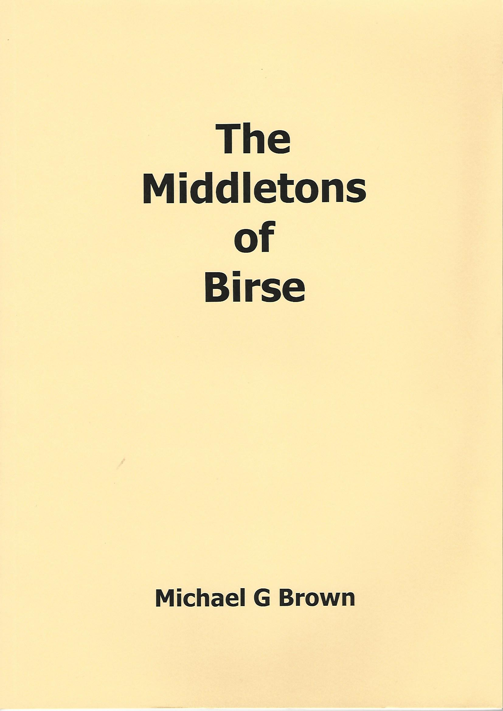 Image for The Middletons of Birse.