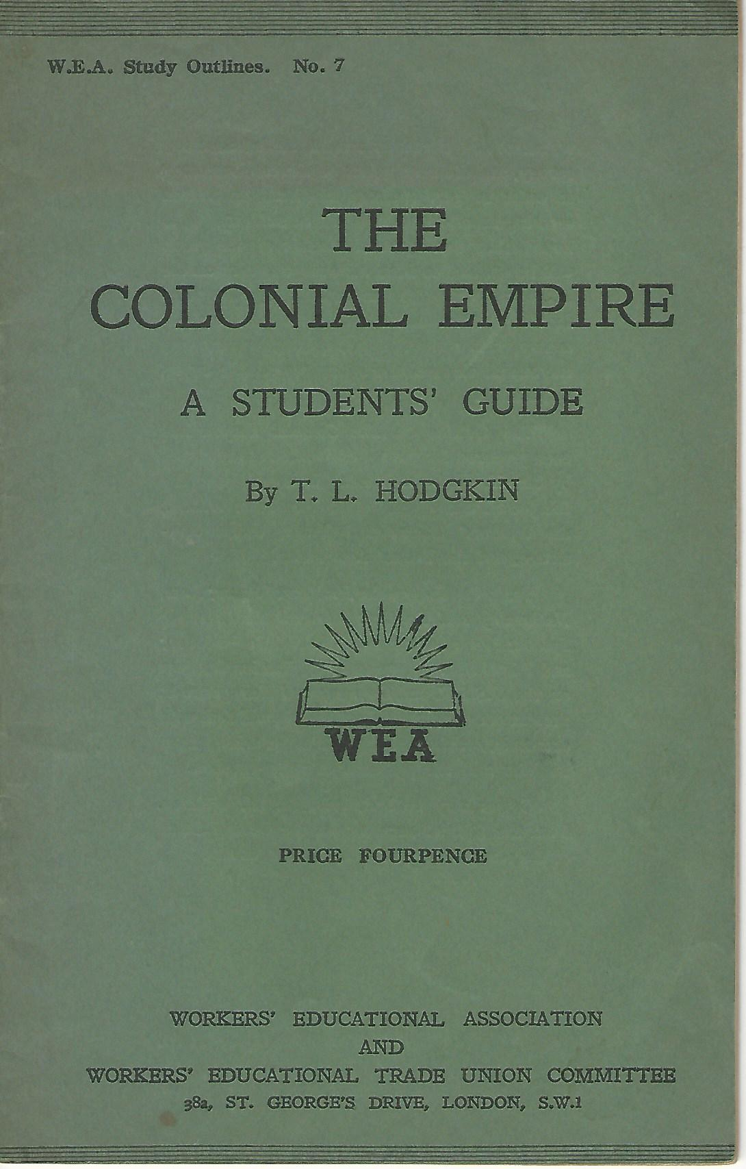 Image for The Colonial Empire: A Student's Guide.