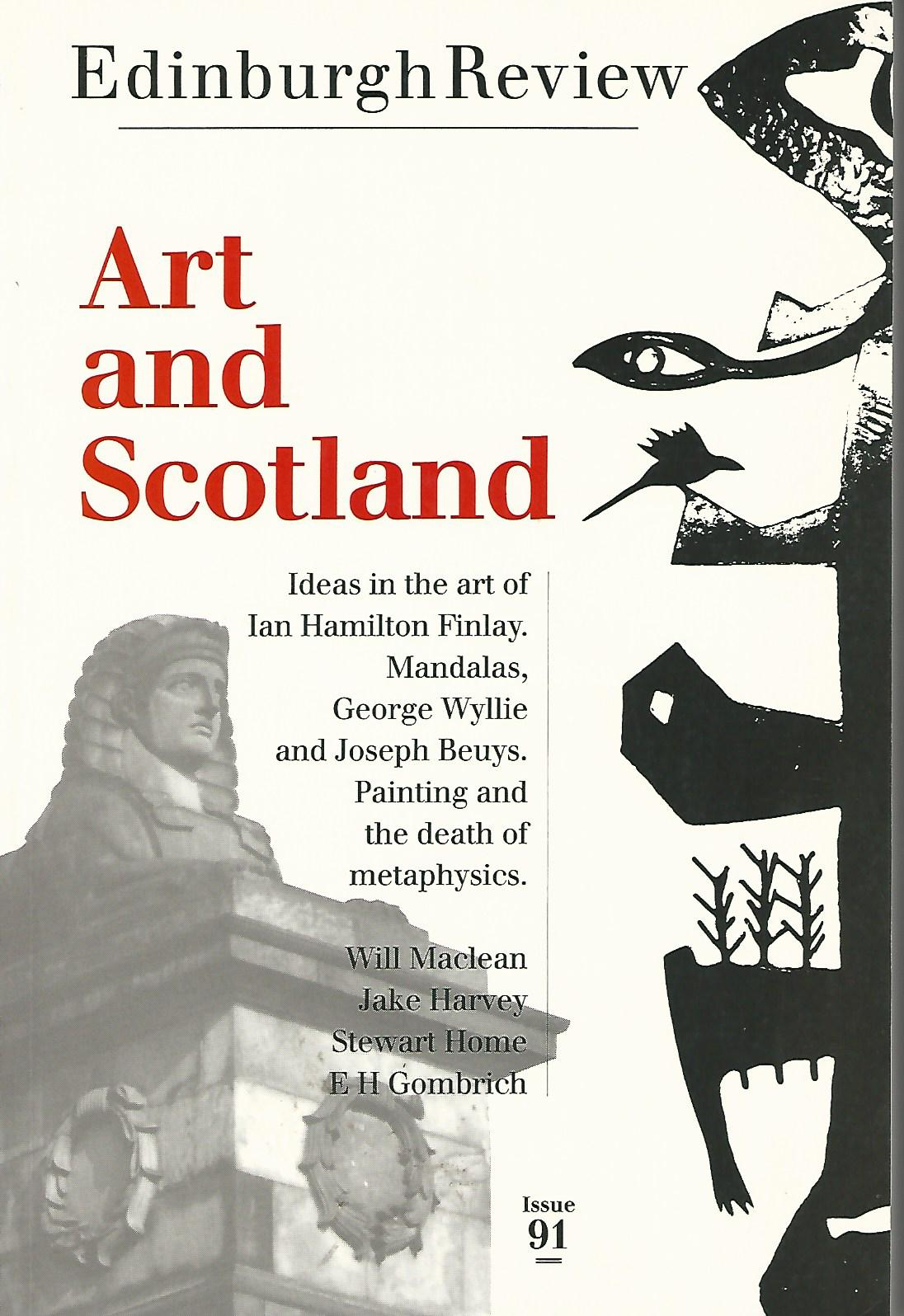 Image for Edinburgh Review Issue 91: Art and Scotland.