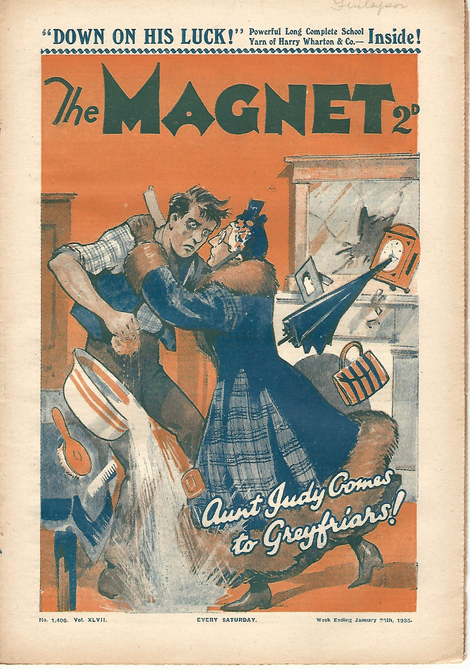 Image for The Magnet.