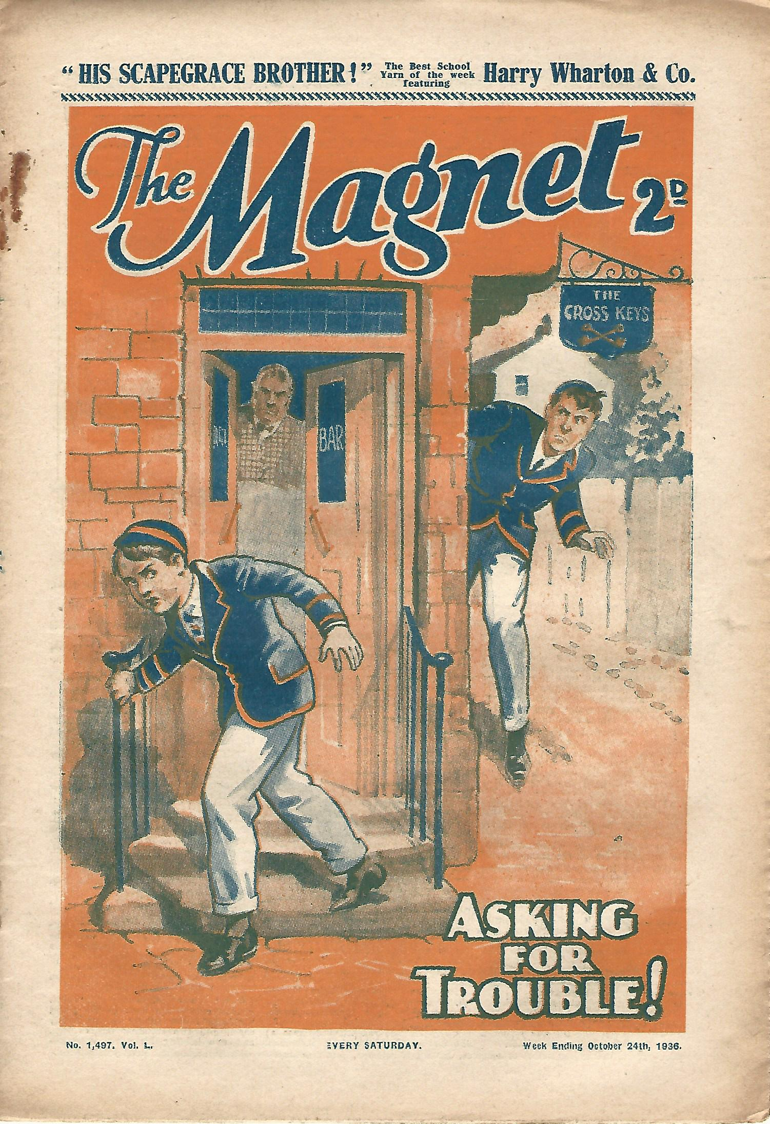 Image for The Magnet No.1497 Vol. L.