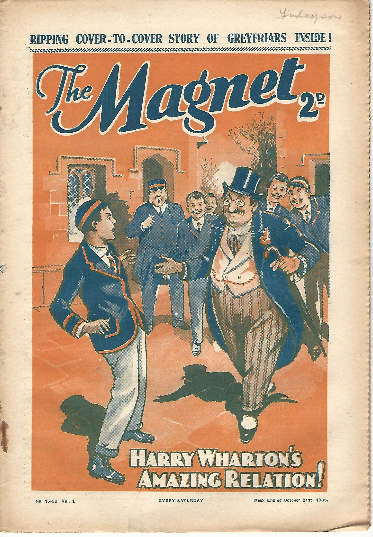 Image for The Magnet No.1498 Vol. L.
