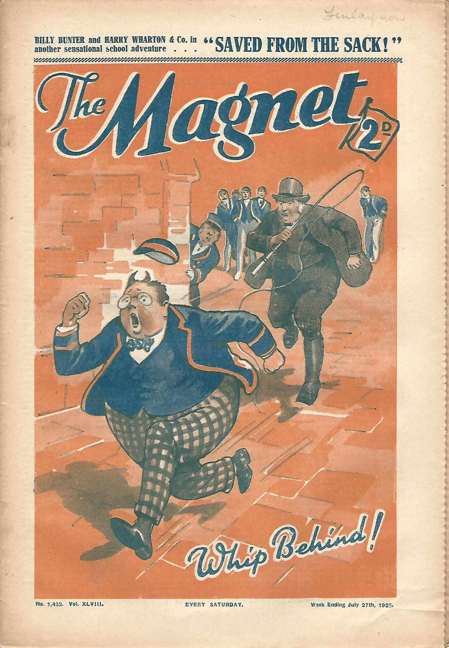 Image for The Magnet No.1432 Vol. XLVIII