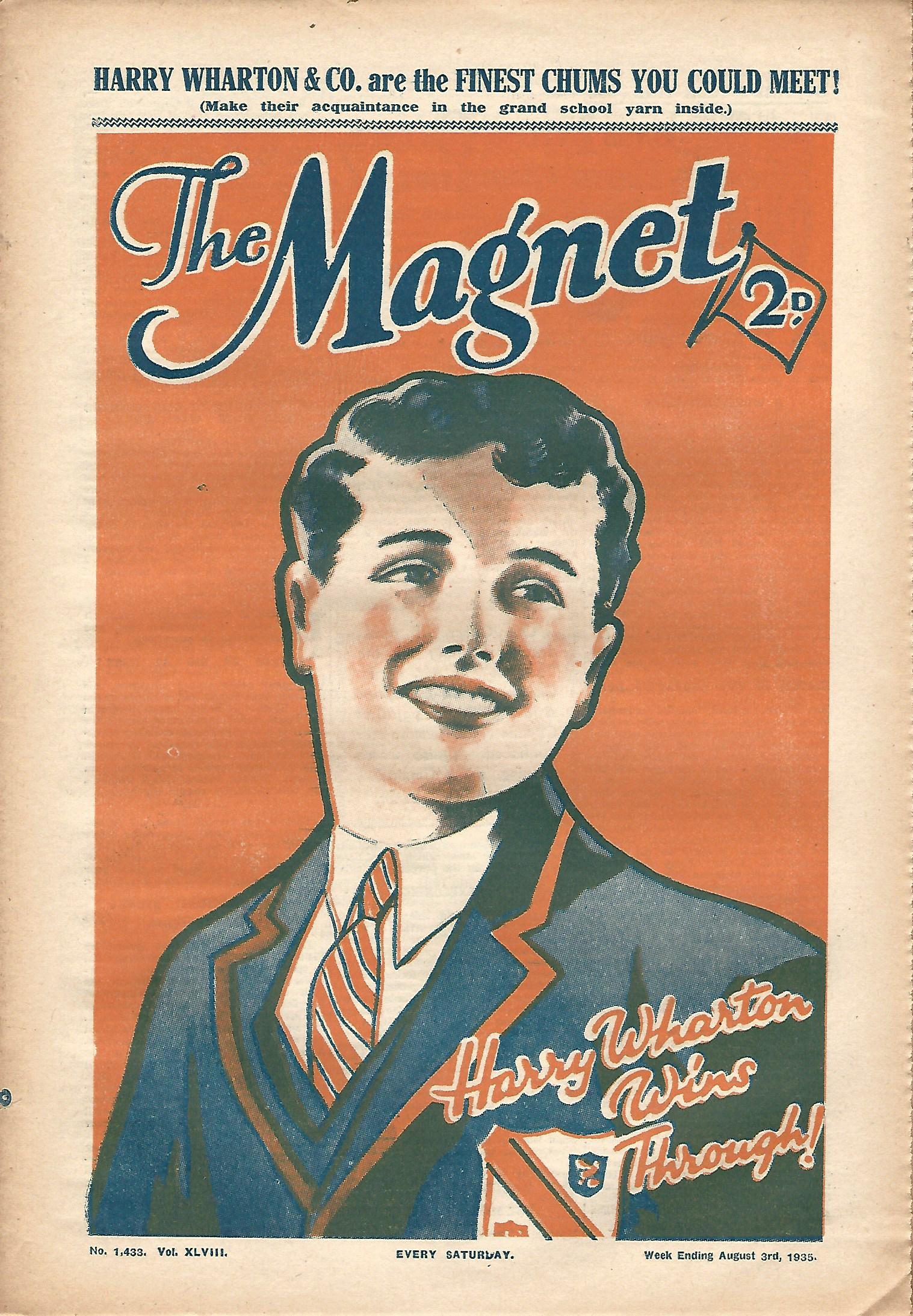 Image for The Magnet No. 1433 Vol. XLVIII