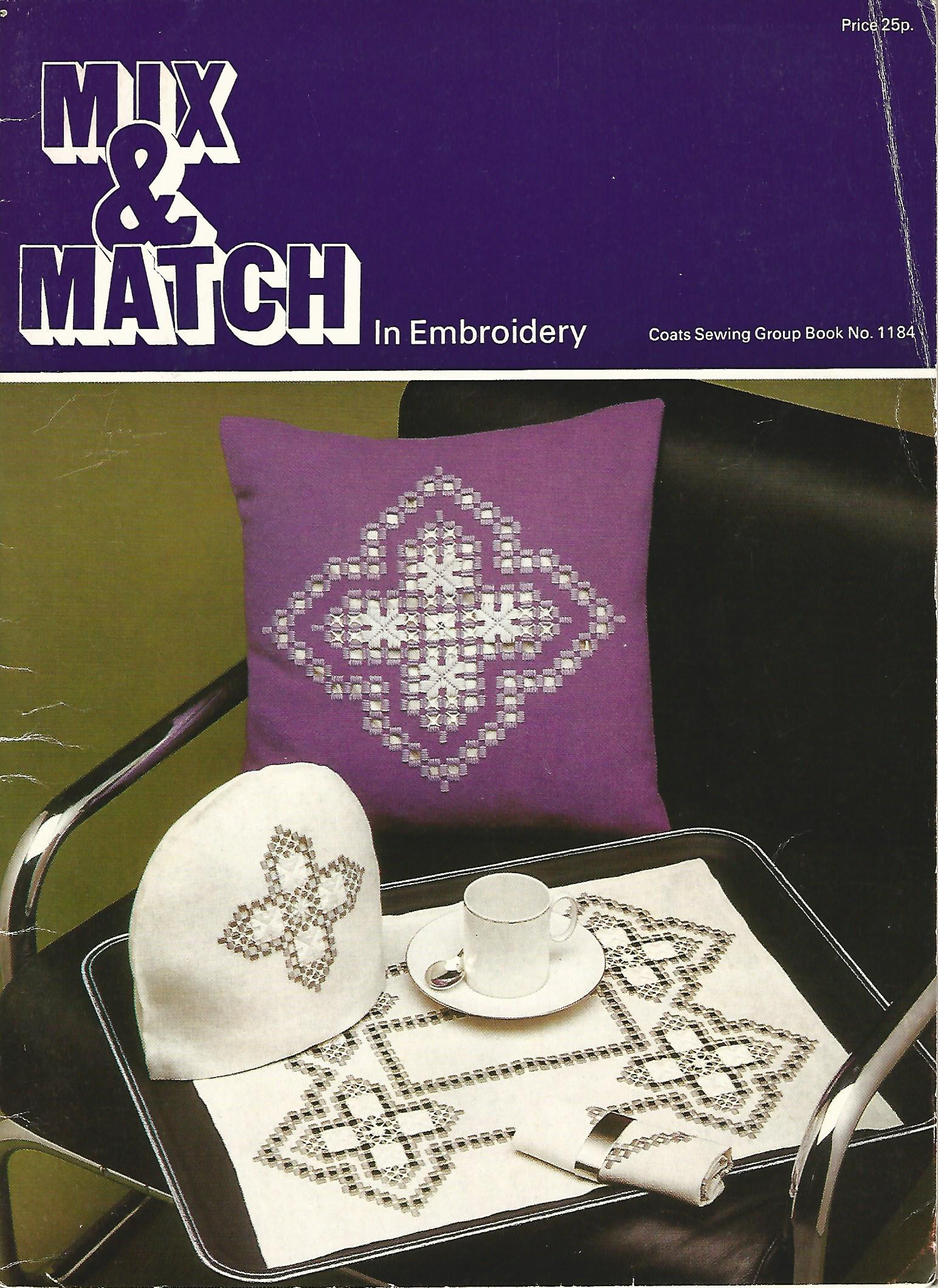 Image for Mix and Match In Embroidery.