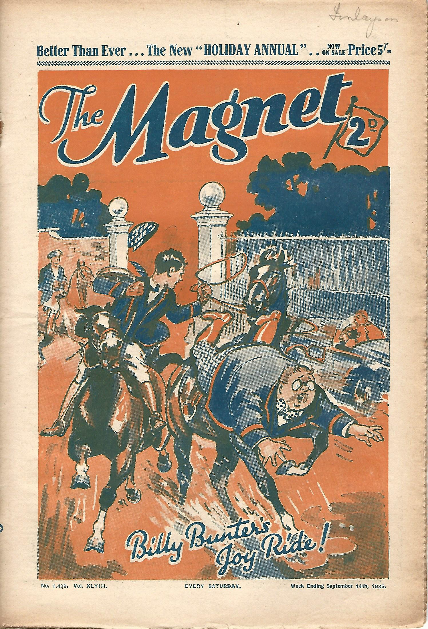 Image for The Magnet No.1439 Vol. XLVIII