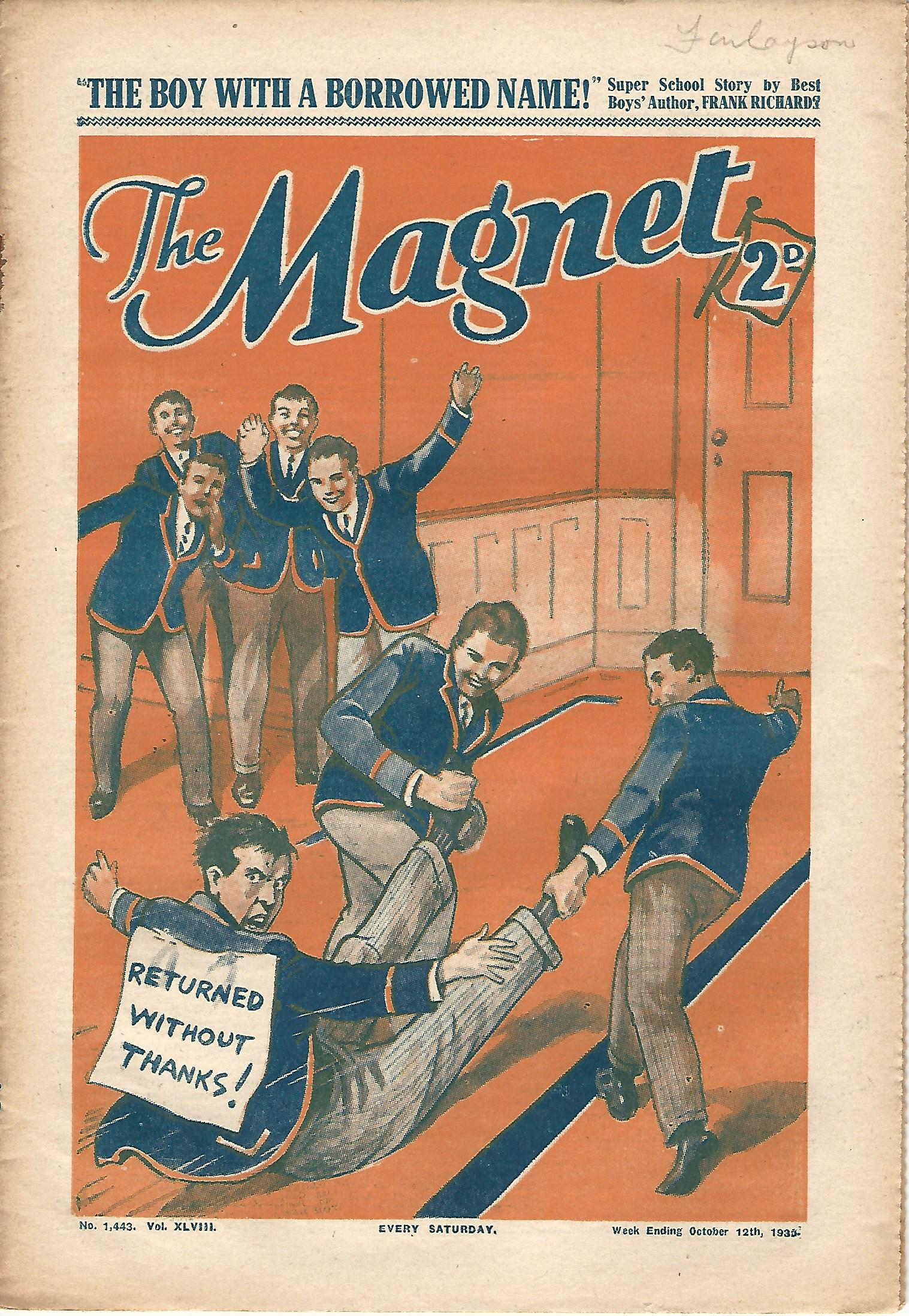 Image for The Magnet No. 1443 Vol. XLVIII