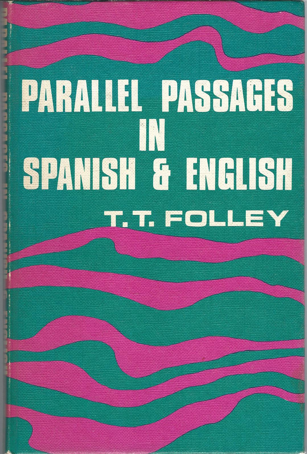 Image for Parallel Passages in Spanish & English.