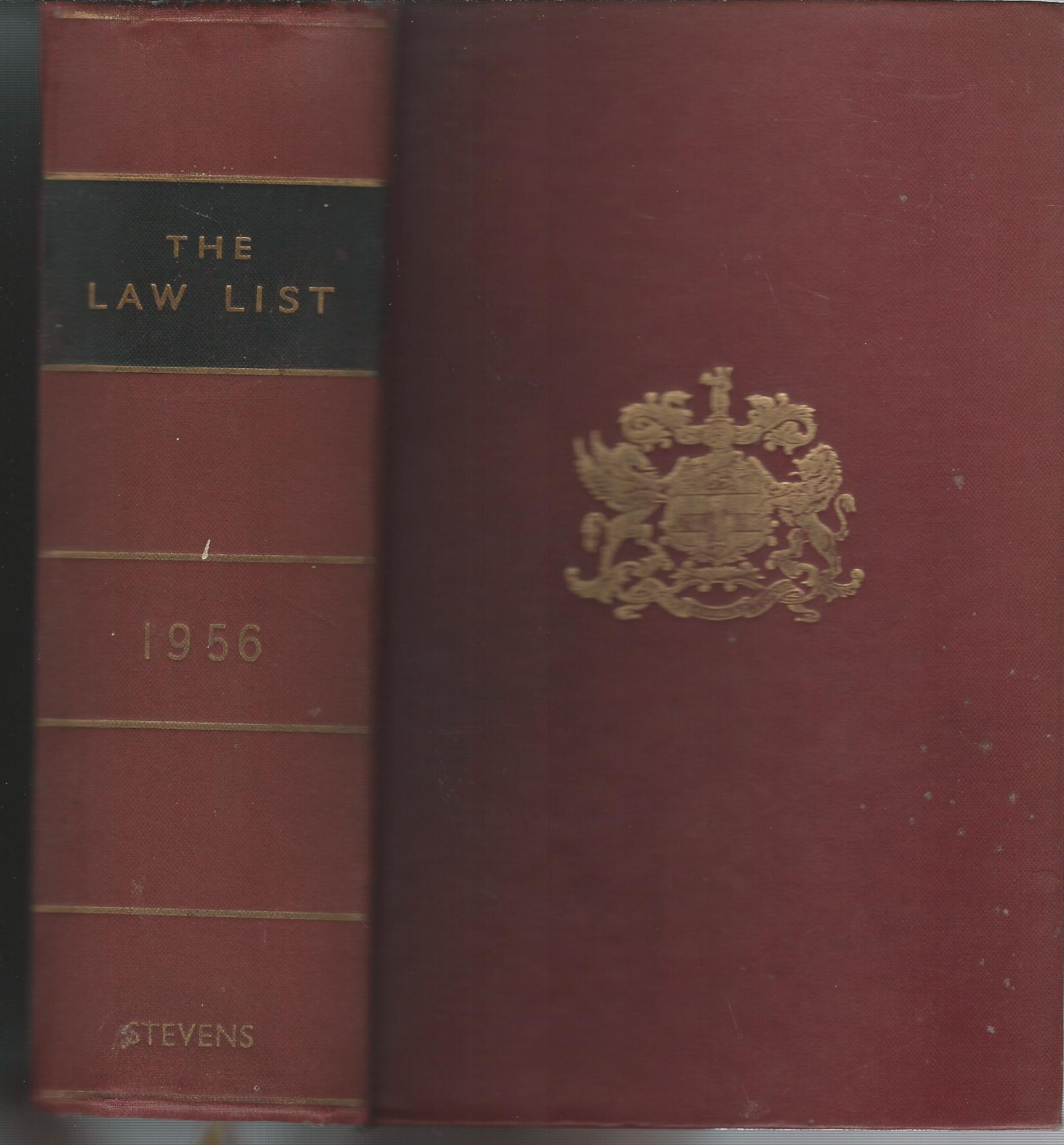 Image for The Law List 1956.