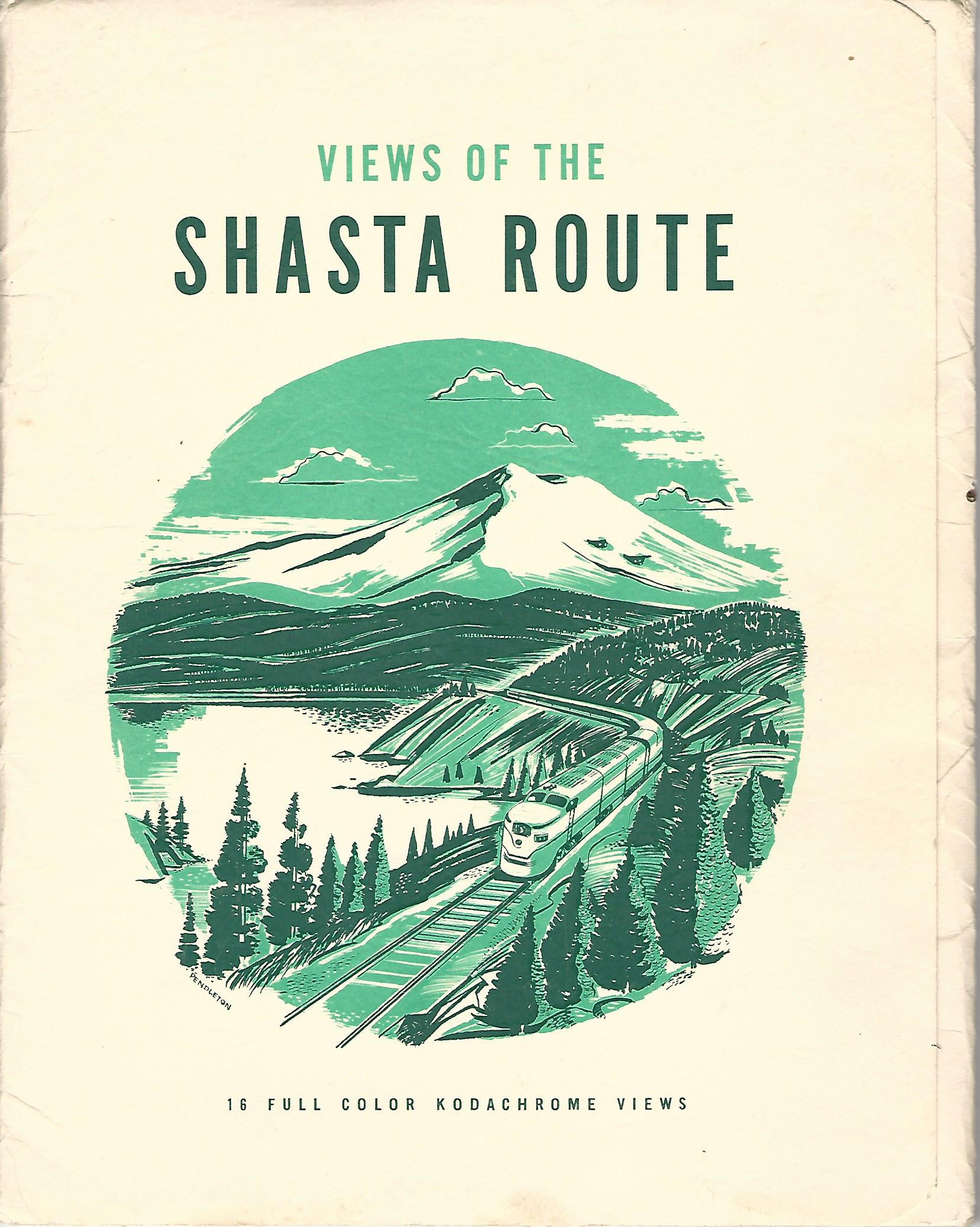 Image for Views of the Shasta Route: 16 Full Colour Kodachrome Views.