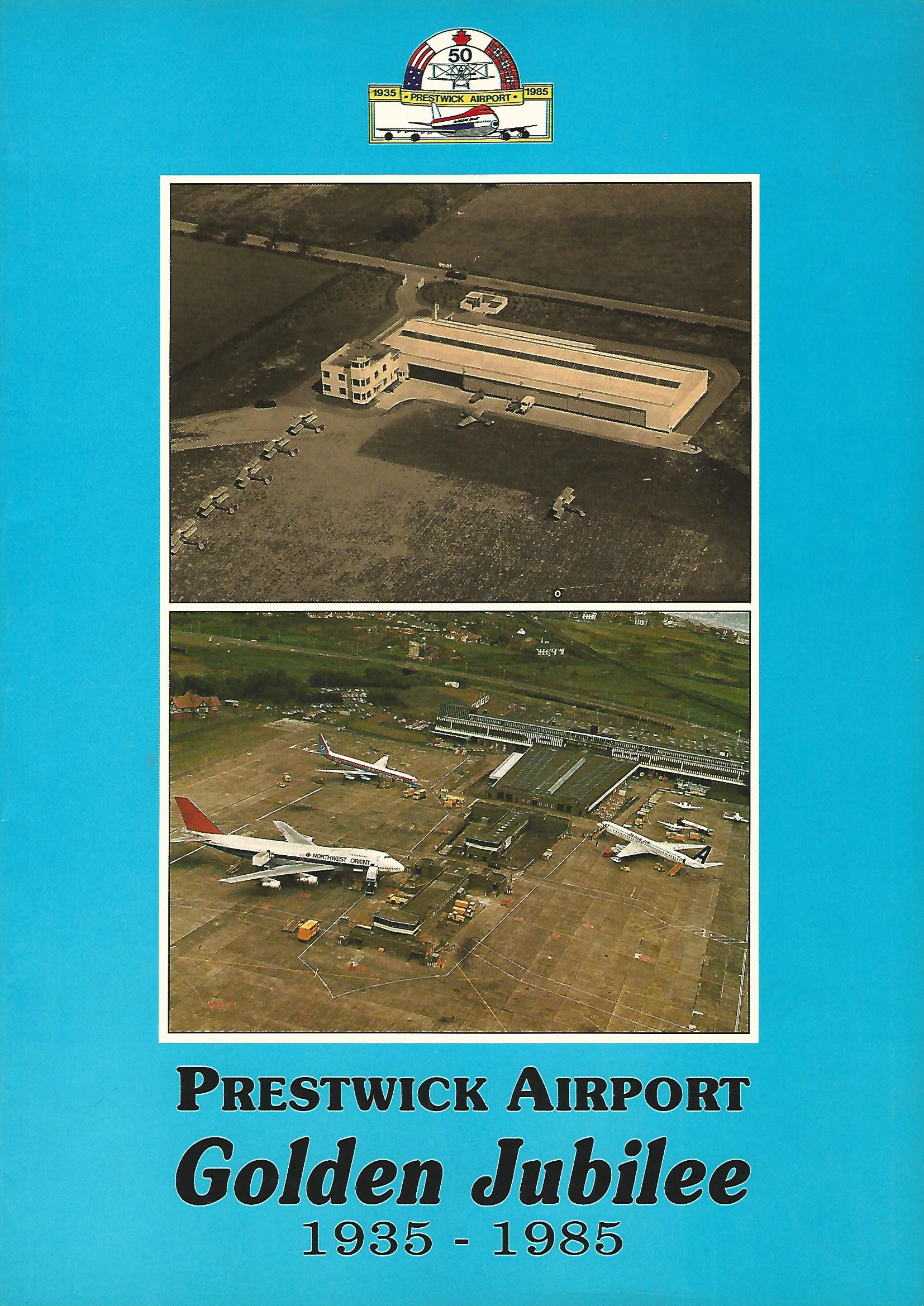 Image for Prestwick Airport Golden Jubilee 1935 - 1985.