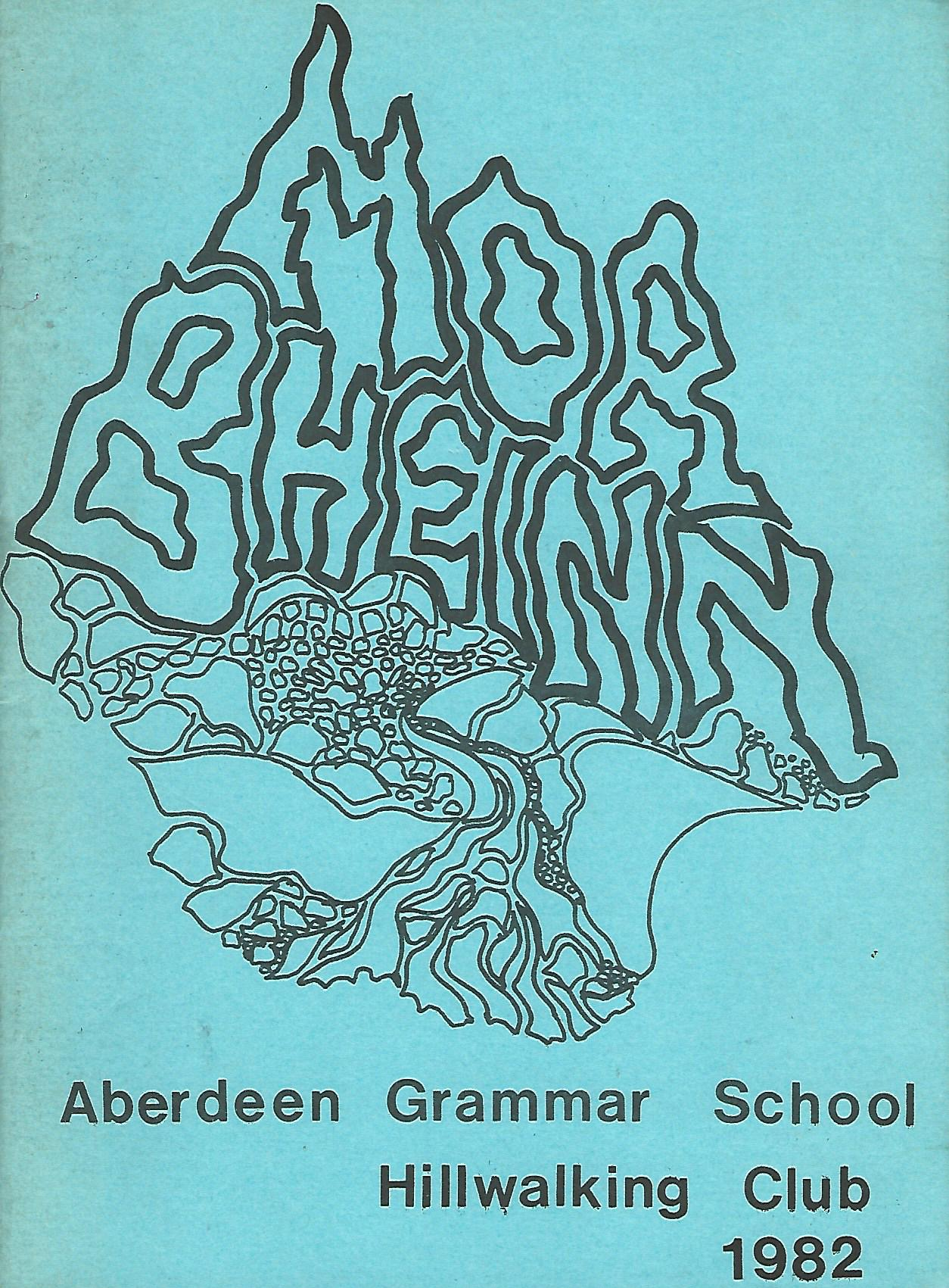 Image for Mor Bheinn, Aberdeen Grammar School Hillwalking Club 1982.