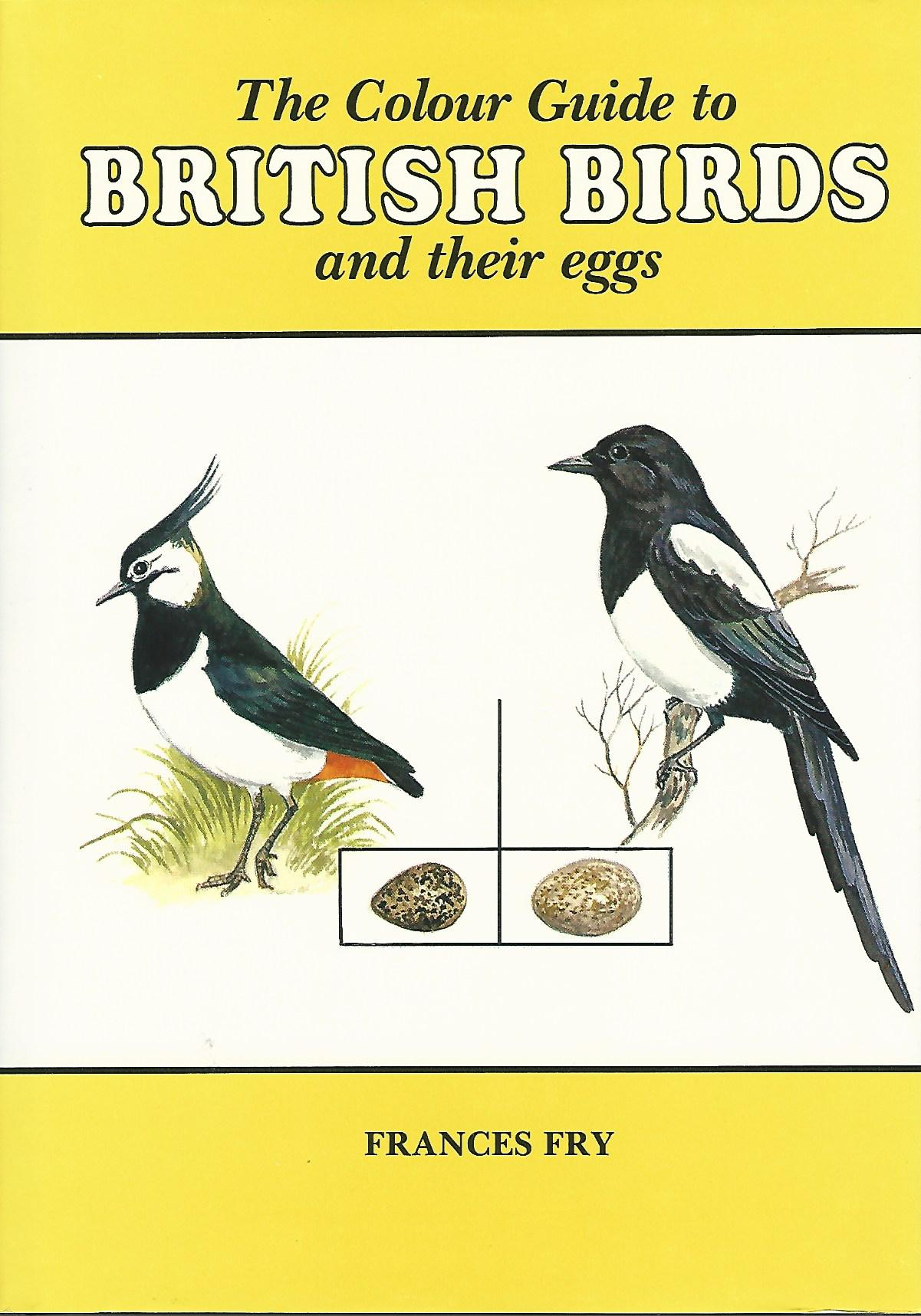 Image for Colour Guide to British Birds and Their Eggs.
