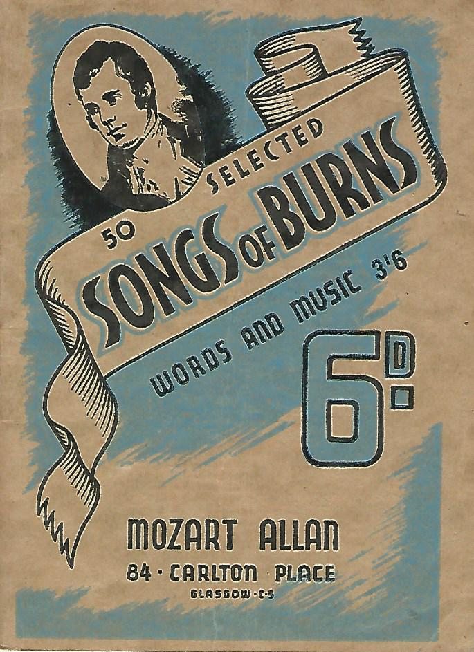 Image for 50 Selected Songs of Burns.