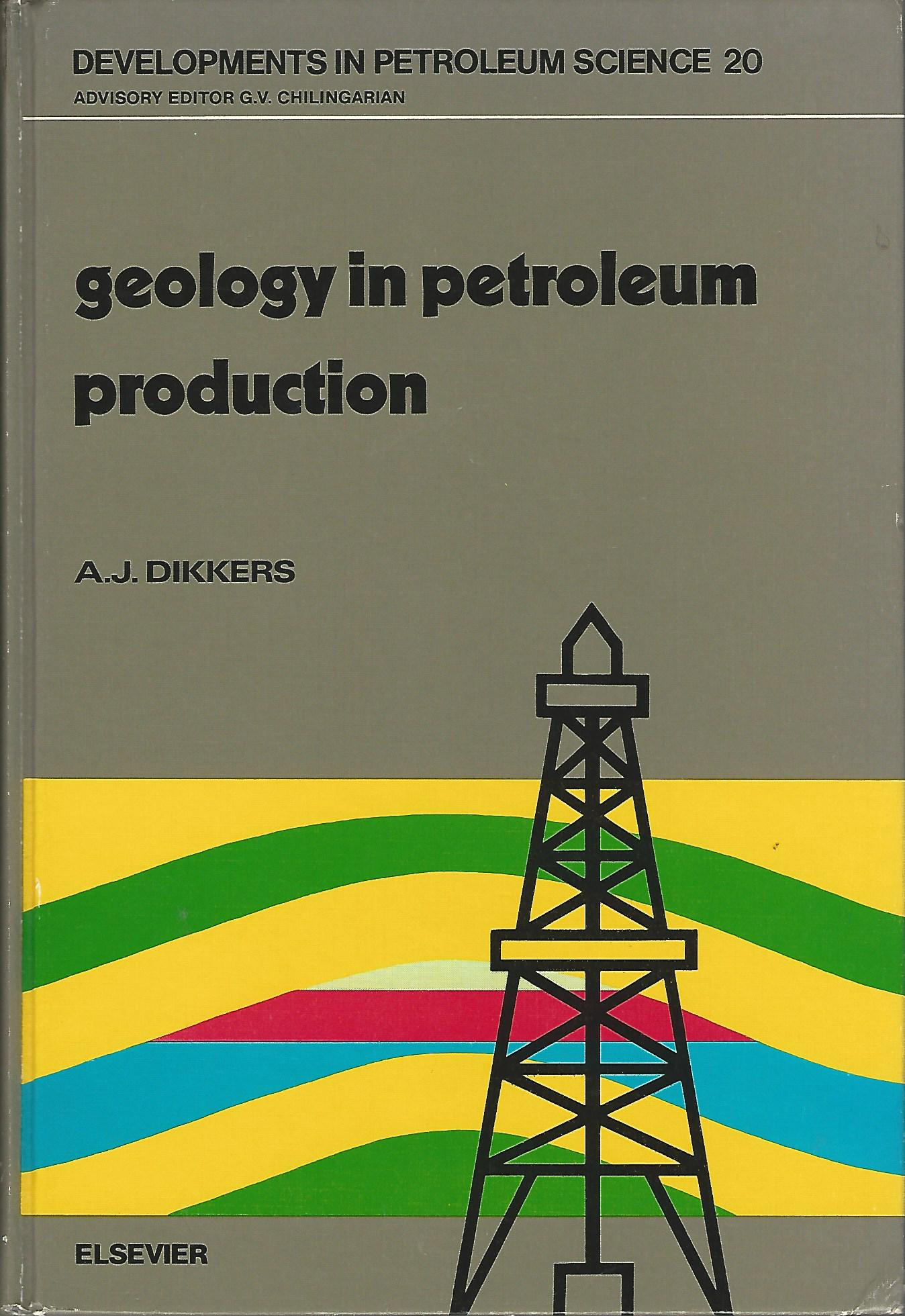 Image for Geology in Petroleum Production (Developments in Petroleum Science Series)