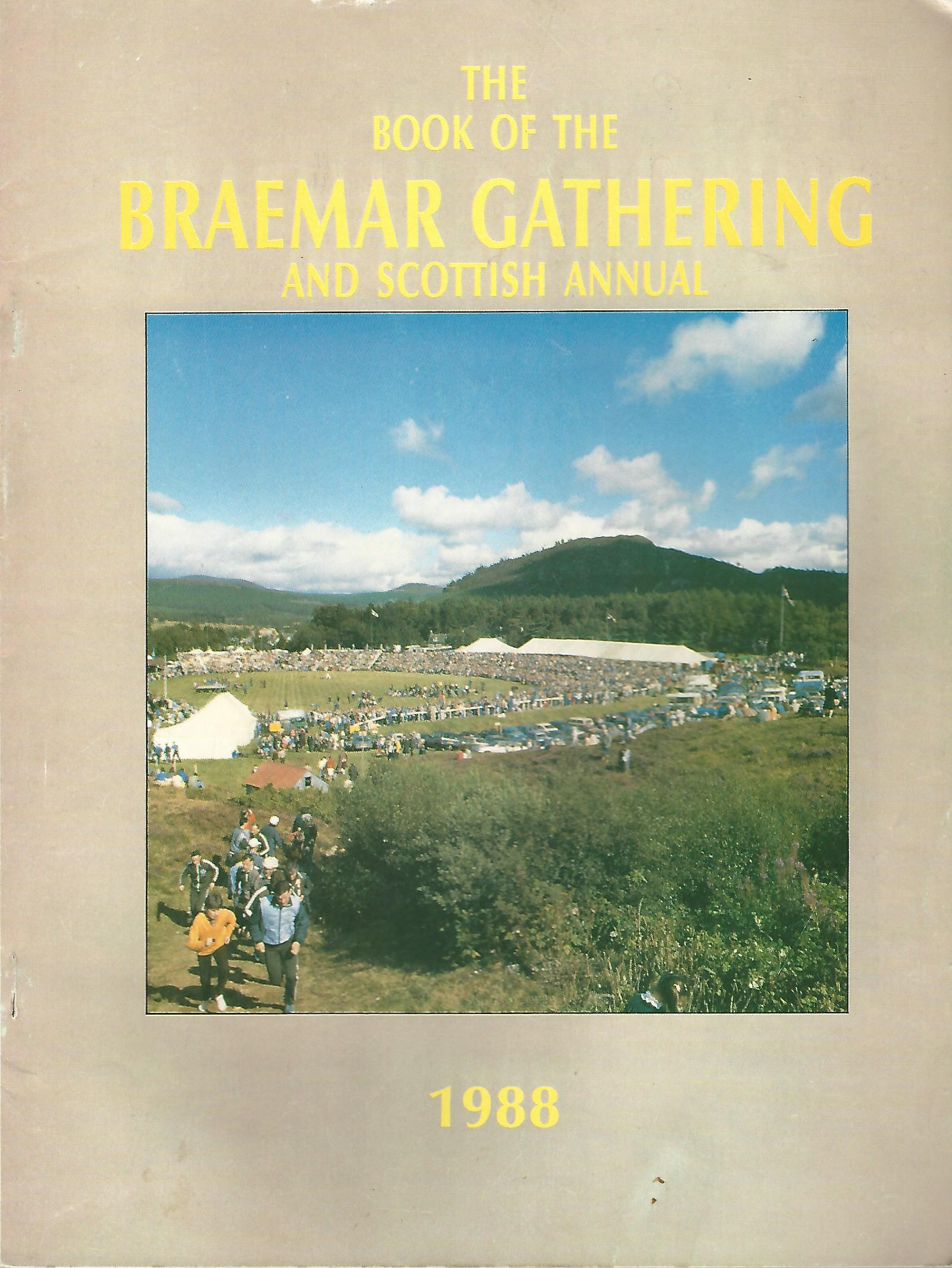 Image for The Book of the Braemar Gathering, 1988.