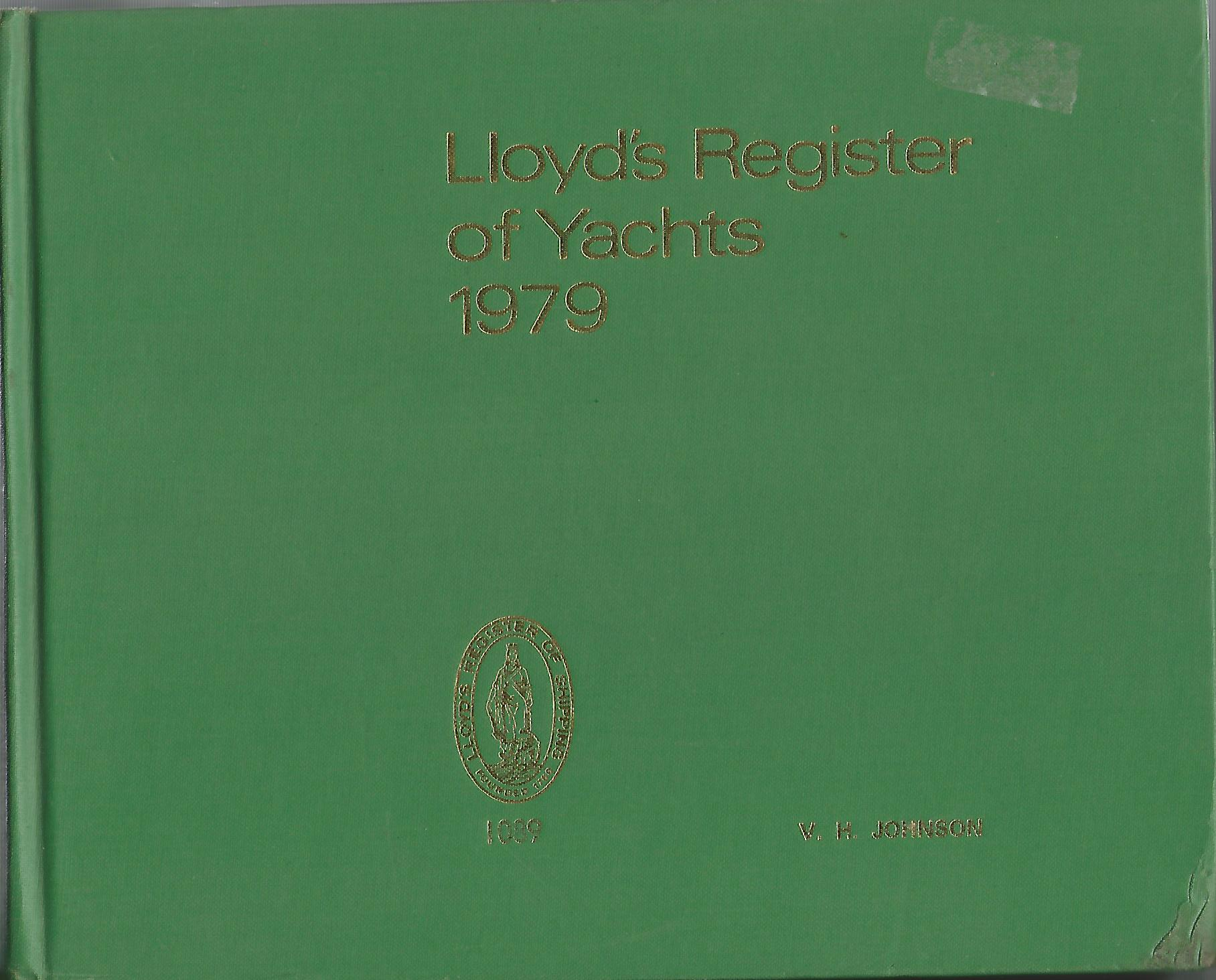 Image for Lloyd's Register of Yachts 1979.