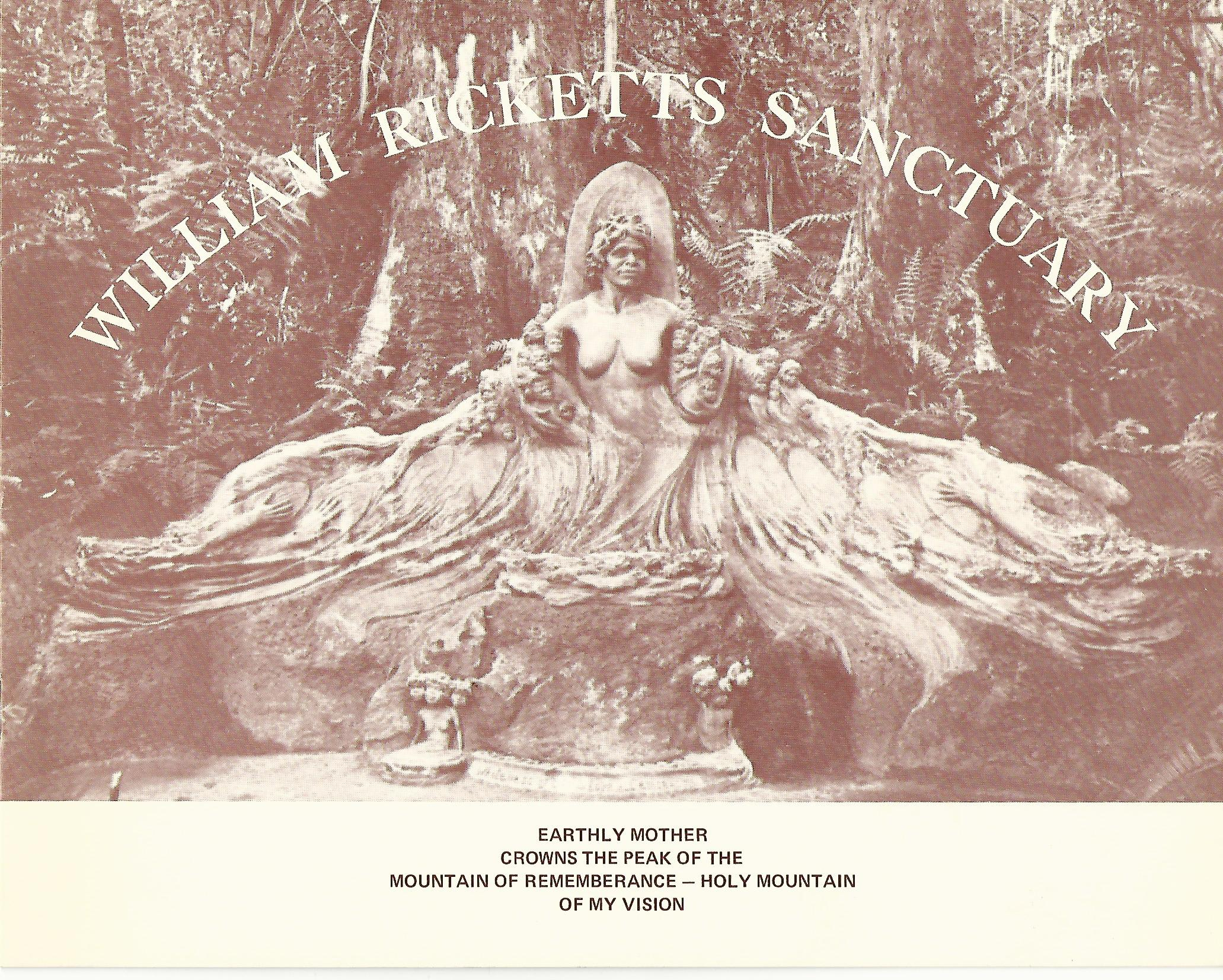 Image for William Ricketts Sanctuary