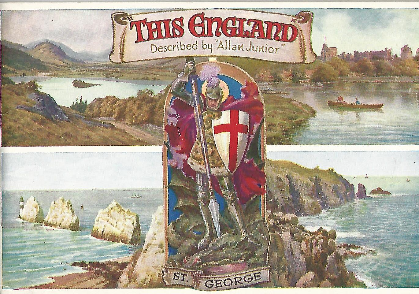 Image for This England: Described by Allan Junior.