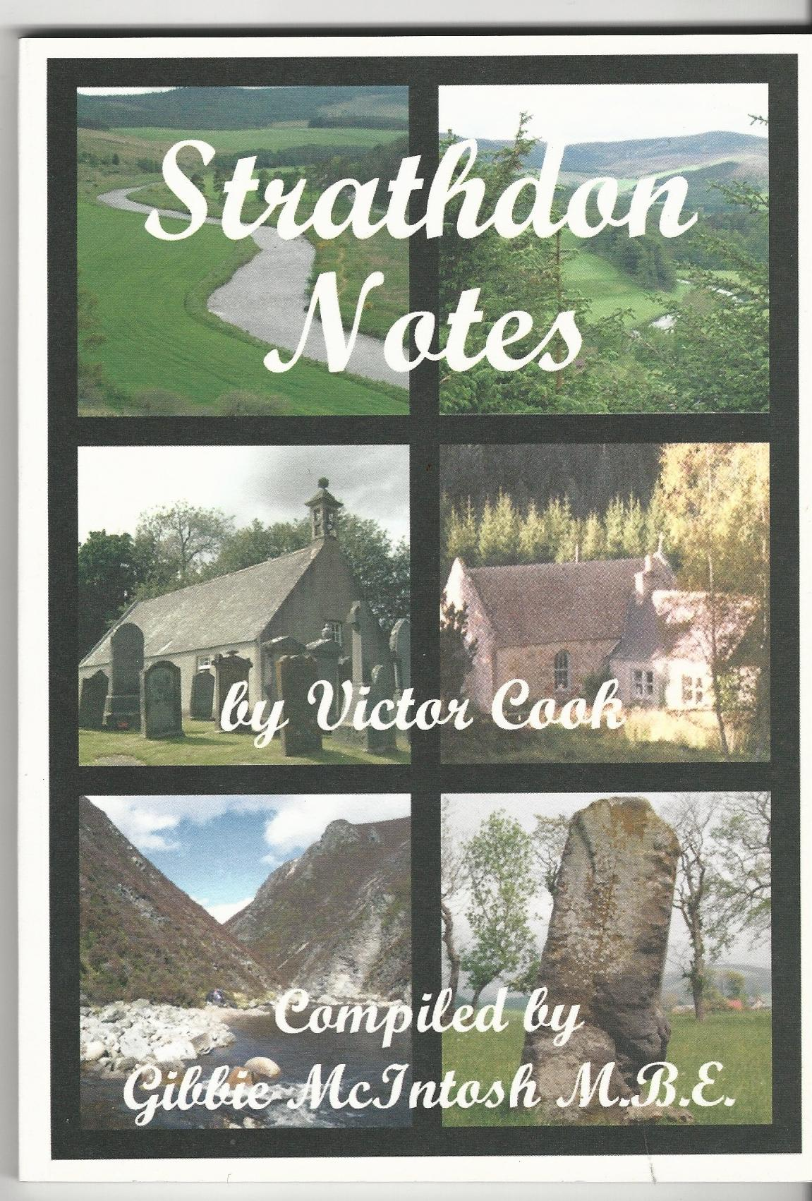 Image for Strathdon Notes: An Anthology of Strathdon.