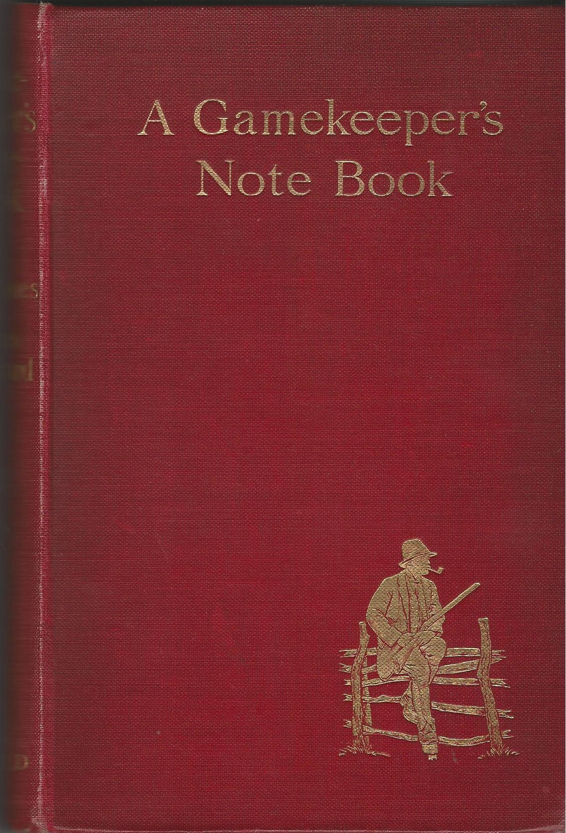 Image for A Gamekeeper's Note Book