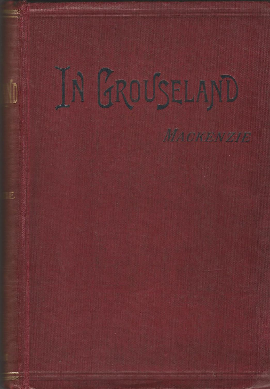 Image for In Grouseland.