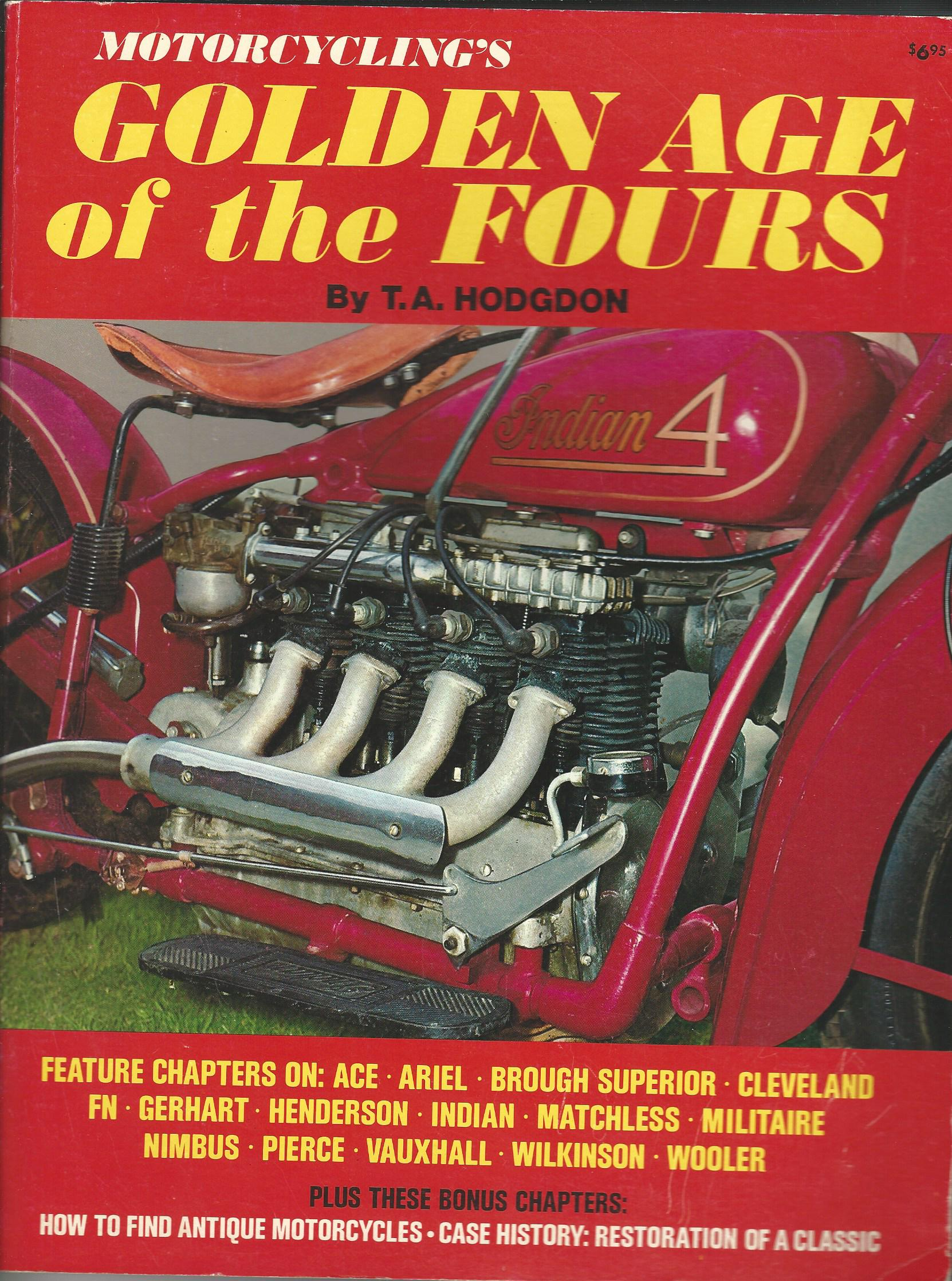 Image for Motorcycle's Golden Age of the Fours.