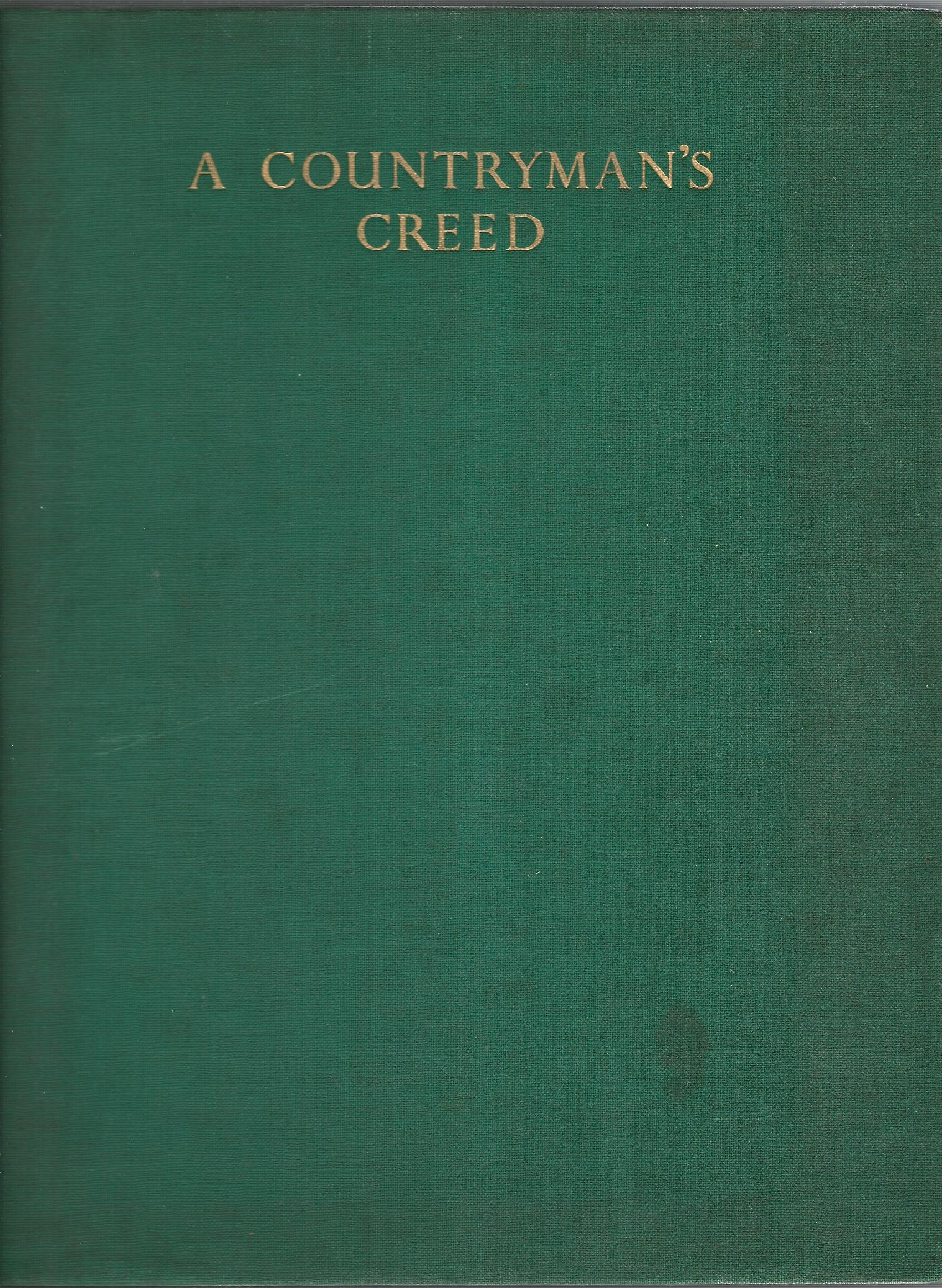 Image for A Countryman's Creed
