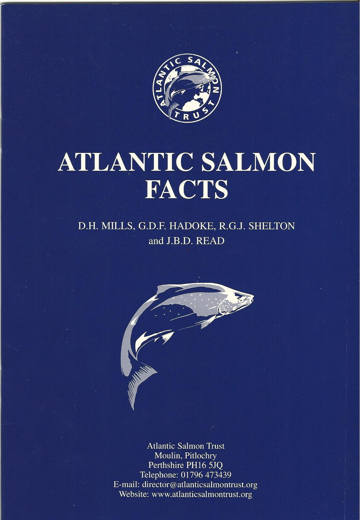 Image for Atlantic Salmon Facts.