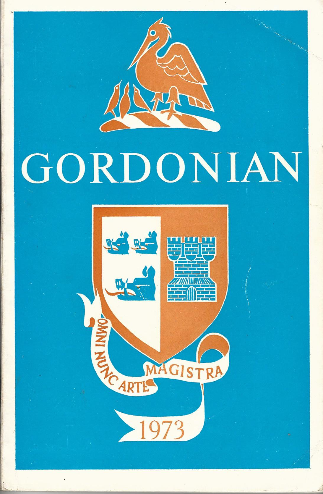 Image for Gordonian 1973.