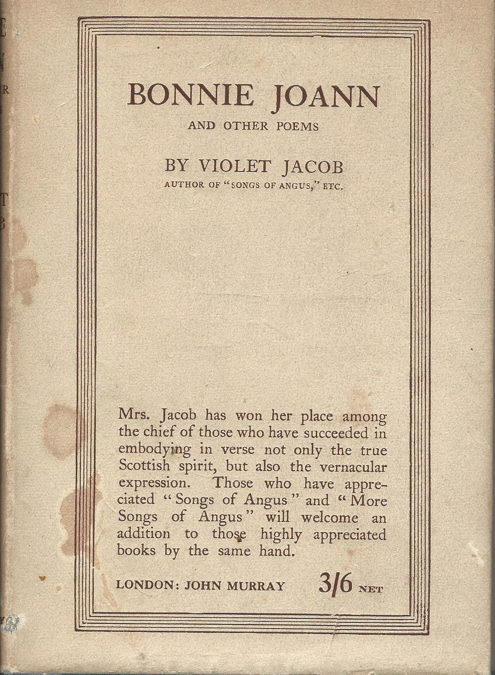 Image for Bonnie Joann and other poems.