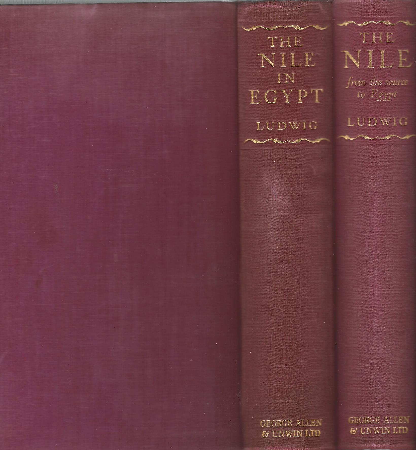 Image for The Nile from the Source to Egypt & The Nile in Egypt. (2 Volumes Complete)
