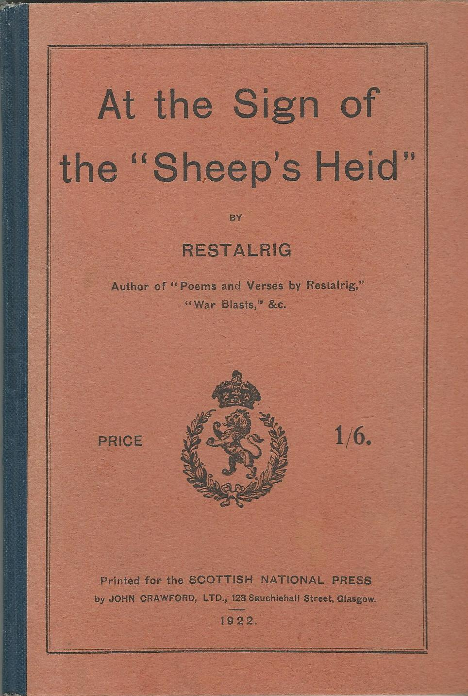 "Image for At the Sign of the ""Sheep's Heid"""