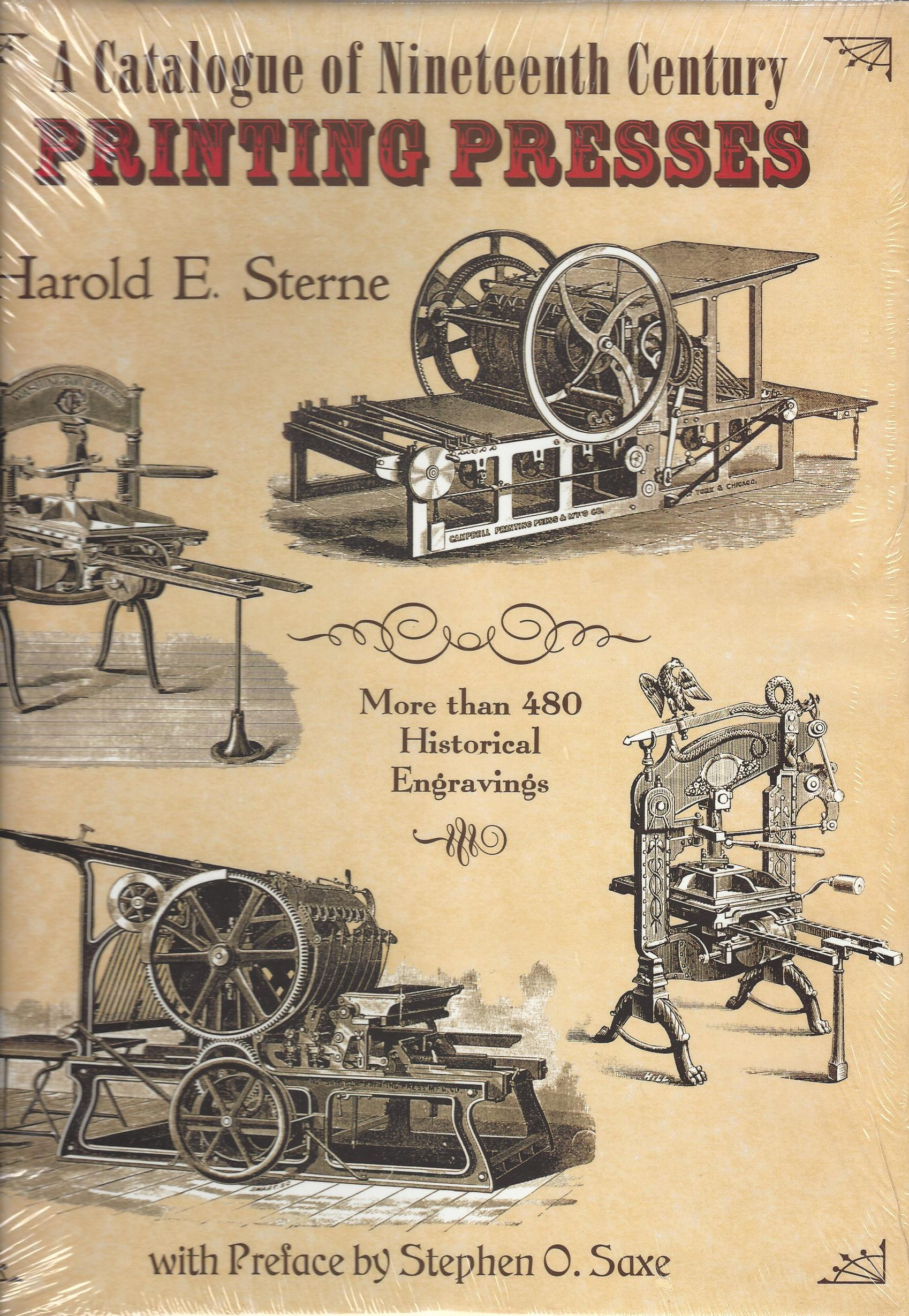 Image for A Catalogue of Nineteenth Century Printing Presses