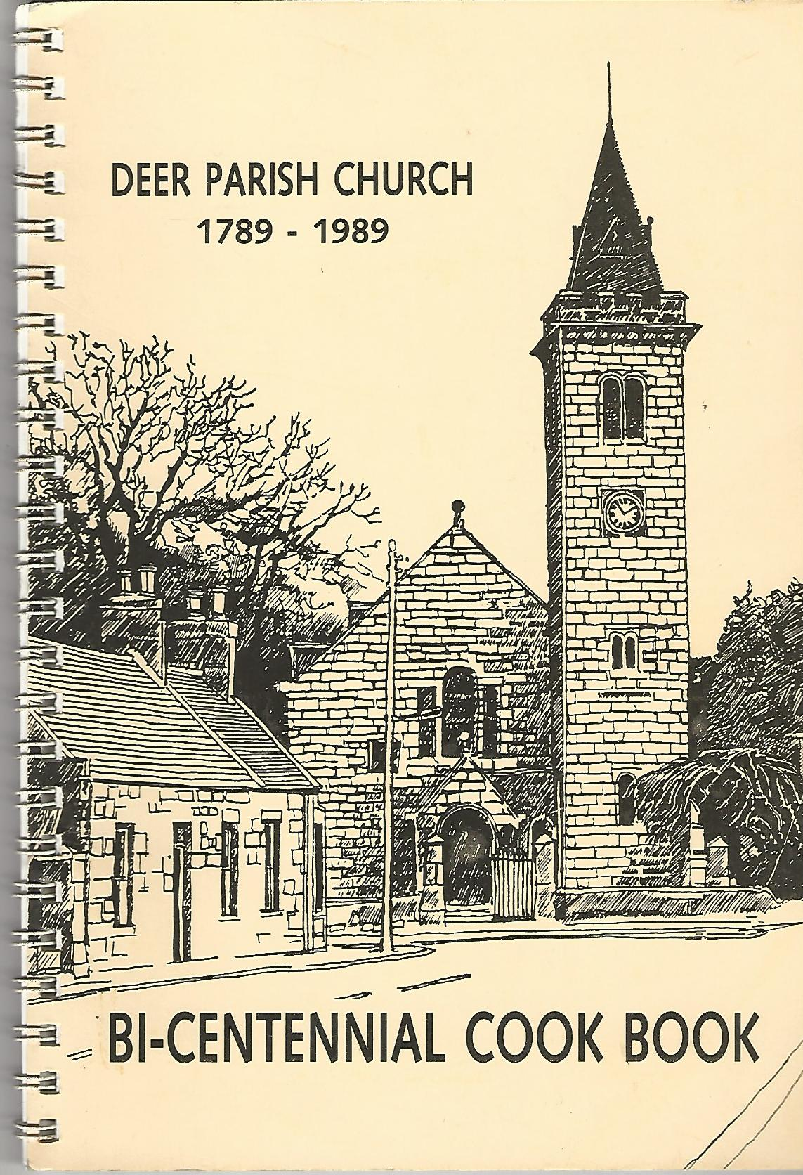 Image for Deer Parish Church 1789-1989 Bi-Centennial Cook Book.