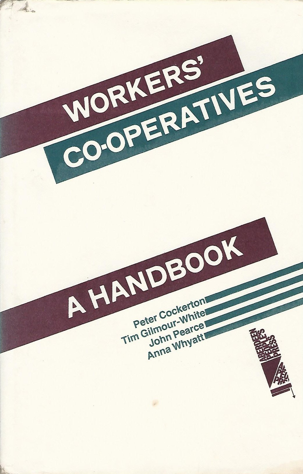 Image for Workers' Co-Operatives: A Handbook.