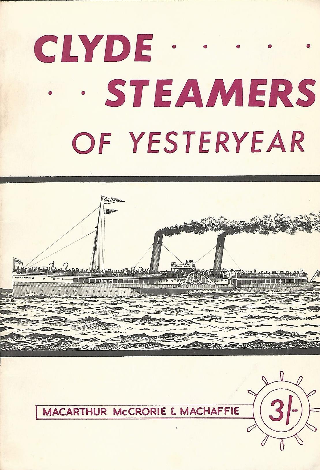 Image for Clyde Steamers of Yesteryear