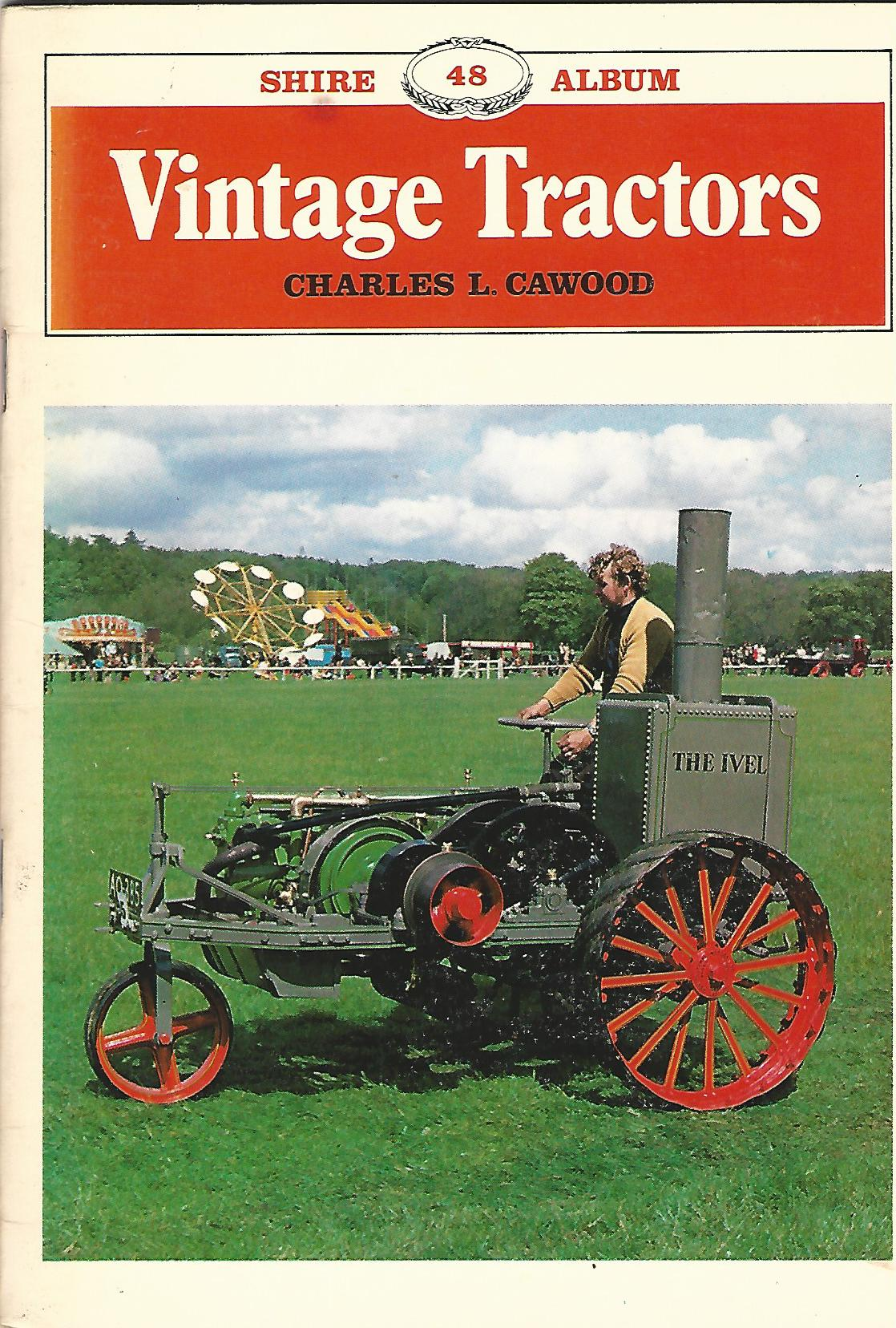 Image for Vintage Tractors (Shire Album 48)