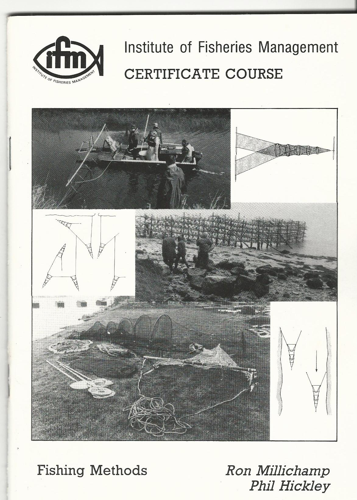 Image for Institute of Fisheries Management Certificate Course: Fishing Methods